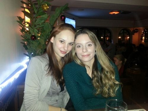 Me with one of my best friends Jana :)