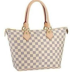 Checkerboard print bag by Louis Vuitton