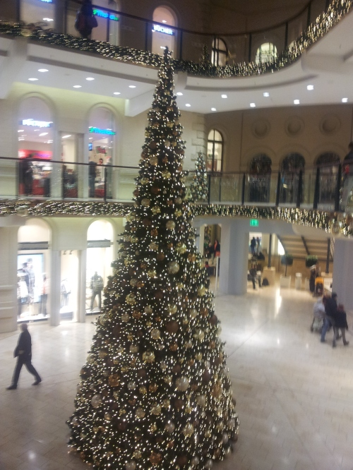 Christmas tree in our shopping centre
