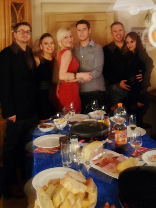 Raclette party on NYE