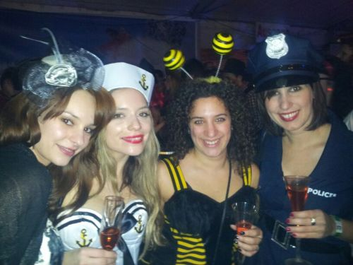 Carnival and birthday party  with my friends