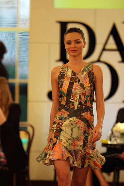 Summer Fashion: Miranda Kerr by Wikimedia