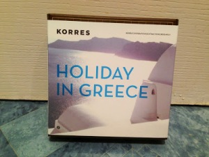 Korres Holiday in Greece travel set