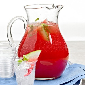 Watermelon cooler punch