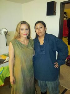 Me (left) and Nina :)