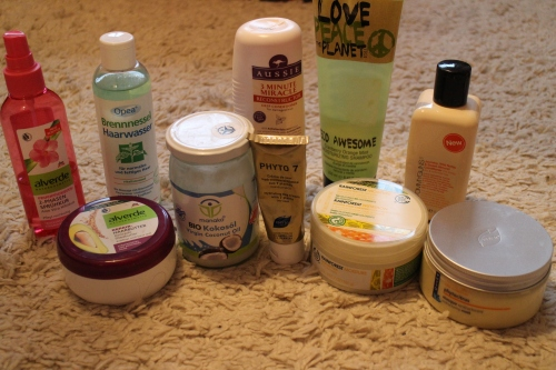 My current favourite products for dry/damages hair